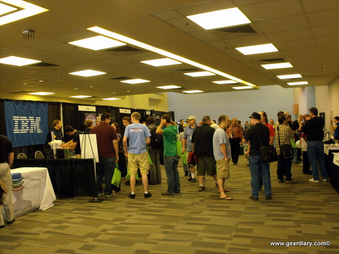 Ohio Linuxfest 2010: Here's to the Hall Track
