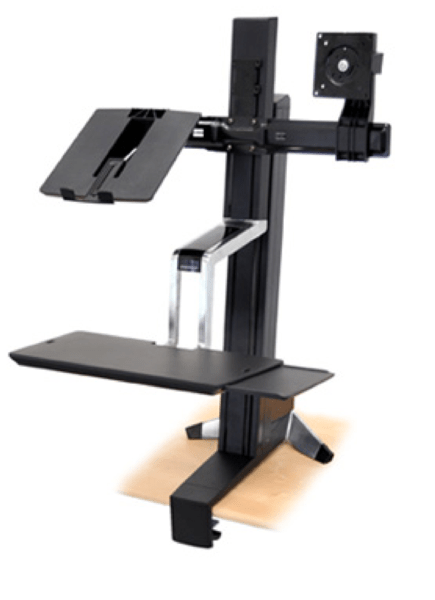 GearDiary Work Gear Review- The Ergotron WorkFit Sit-Stand Desk