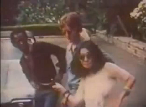 Random Cool Video: Miles Davis & John Lennon Playing Basketball