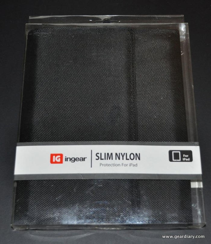 iPad Case Review:  ingear Slim Nylon