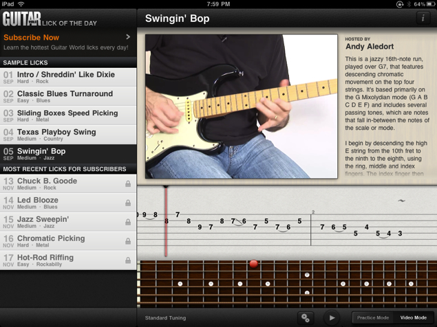 Guitar World Lick of the Day for iPhone/Touch/iPad Review  Guitar World Lick of the Day for iPhone/Touch/iPad Review  Guitar World Lick of the Day for iPhone/Touch/iPad Review  Guitar World Lick of the Day for iPhone/Touch/iPad Review  Guitar World Lick of the Day for iPhone/Touch/iPad Review  Guitar World Lick of the Day for iPhone/Touch/iPad Review