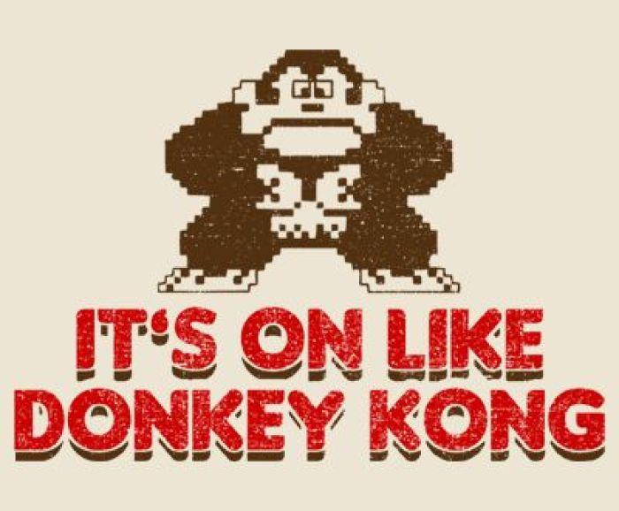 "GearDiary Gear Games News: Nintendo (tries to) Trademark ""It's On Like Donkey Kong"""