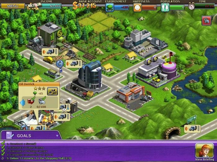iPad Game Review: Virtual City HD