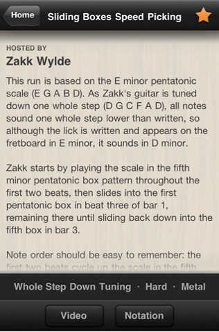 Guitar World Lick of the Day for iPhone/Touch/iPad Review  Guitar World Lick of the Day for iPhone/Touch/iPad Review  Guitar World Lick of the Day for iPhone/Touch/iPad Review