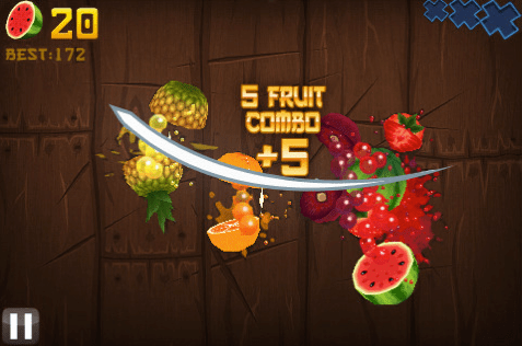 Fruit Ninja for iPhone/Touch Review  Fruit Ninja for iPhone/Touch Review