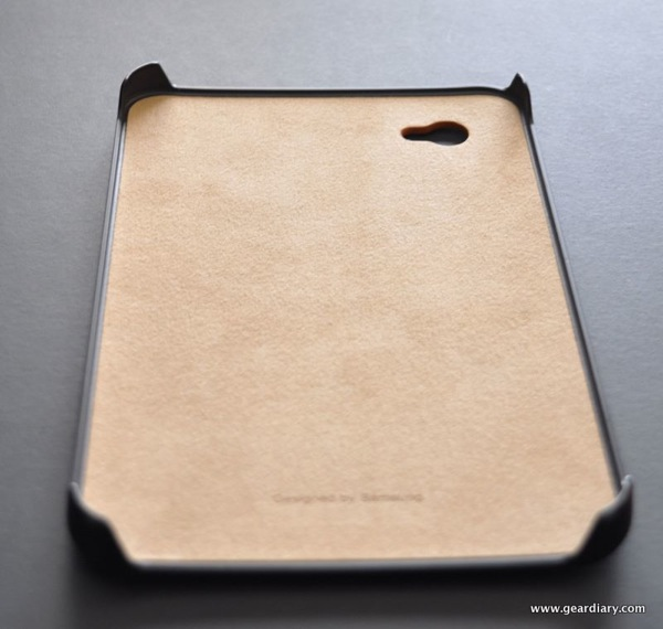 Samsung Galaxy Tab Case Review:  Snap-On Protective Leather Case