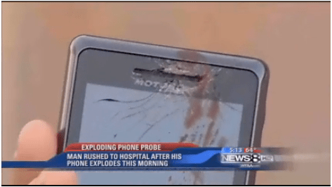 Phone Fail? Motorola Droid Allegedly Explodes While Owner Is In-Call