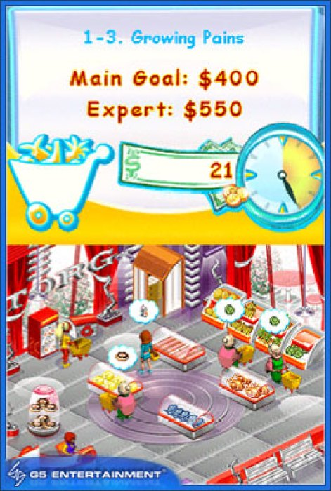 DSiWare Game Review: Supermarket Mania  DSiWare Game Review: Supermarket Mania