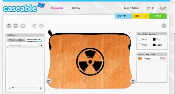 GearDiary Caseable Brings out Custom Laptop Sleeves