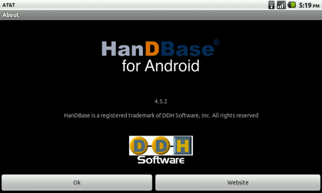 HanDBase for Android Review