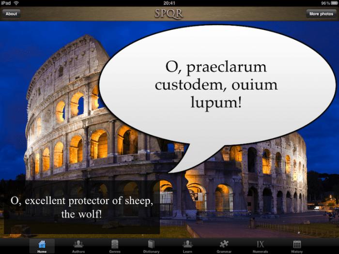 iPad App Review: SPQR