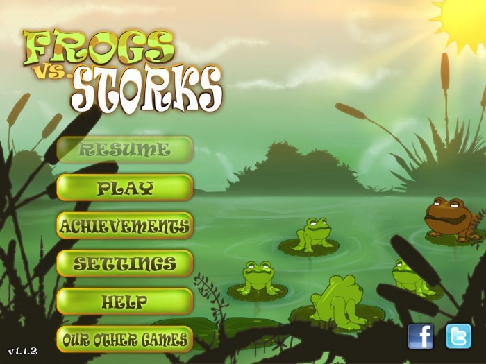 iPad Game Review: Frogs vs Storks