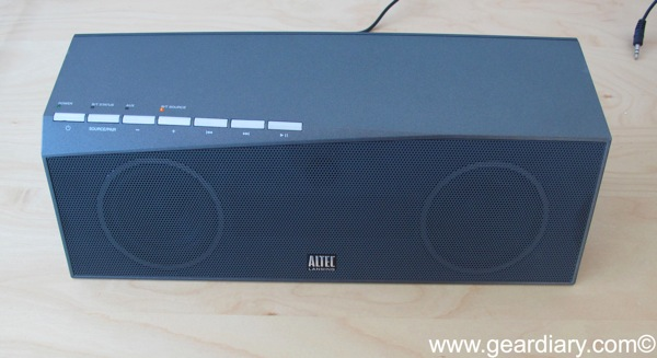 Review- Altec Lansing inMotion Air Speaker System  Review- Altec Lansing inMotion Air Speaker System