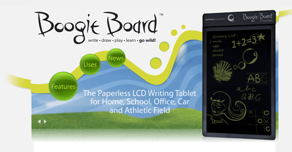 Review: Boogie Board LCD Writing Tablet: Go Paperless