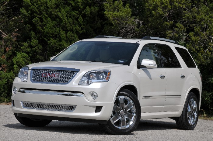 2011 GMC Acadia Denali Brings the Bling