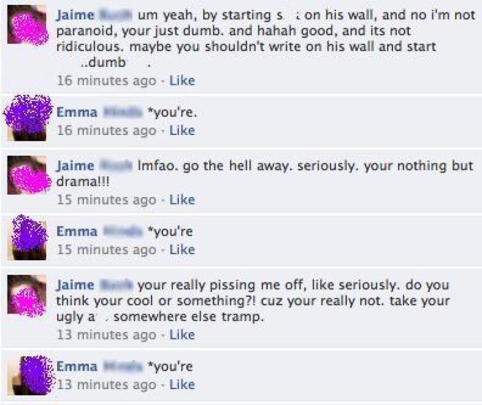Grammar R Us: Facebook Drama Battles!