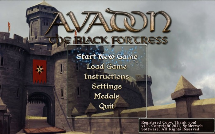 Mac Game Review: Avadon: The Black Fortress