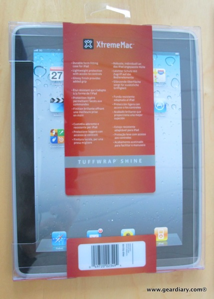 iPad Accessory Review: XtremeMac Tuffwrap Shine for iPad 2  iPad Accessory Review: XtremeMac Tuffwrap Shine for iPad 2  iPad Accessory Review: XtremeMac Tuffwrap Shine for iPad 2
