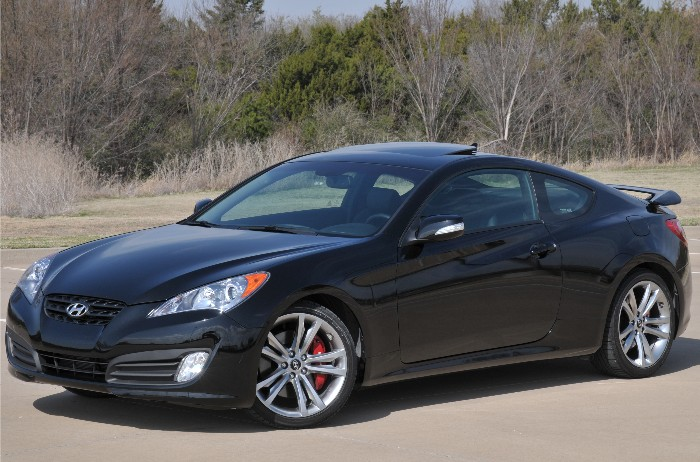 Hyundai Genesis Coupe 3.8 Track Fights for Respect  Hyundai Genesis Coupe 3.8 Track Fights for Respect