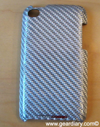 iPod Touch 4th Generation Accessory Review: Infinity Carbon Texalium Silver Case