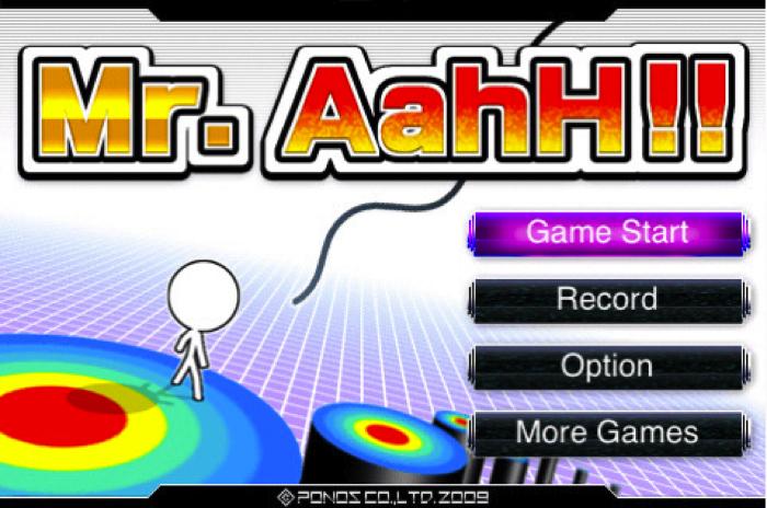 Mr AahH for iPhone/Touch  Mr AahH for iPhone/Touch