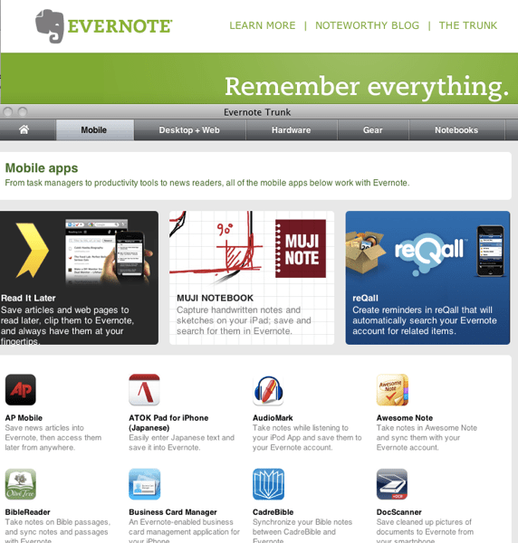 Spring Cleaning: If an App Doesn't Work with Evernote or Dropbox? Buh-Bye!