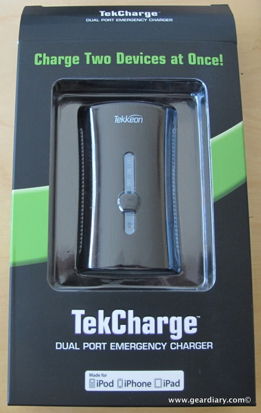 Review: Tekkeon TekCharge MP1860A Dual Port Power Pack  Review: Tekkeon TekCharge MP1860A Dual Port Power Pack