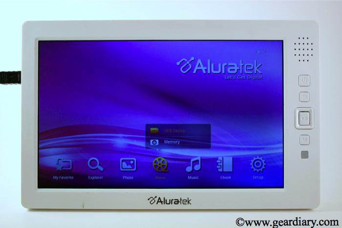 Review: Aluratek Cinepal HD Personal Media Player