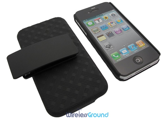 My iPhone's New Buddy: Apple Shell Holster Combo from WirelessGround.com