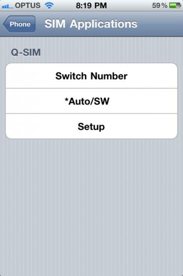 Q-SIM Dual SIM Adaptor for iPhone4 Review