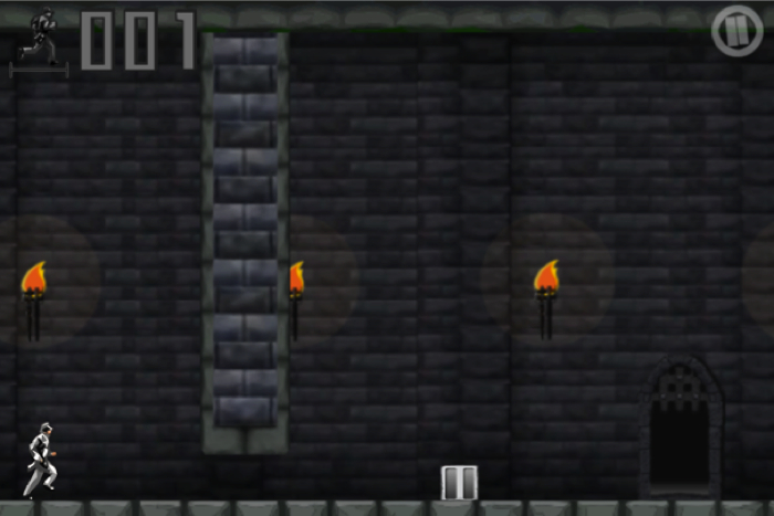 Castle Runner for iPhone/Touch