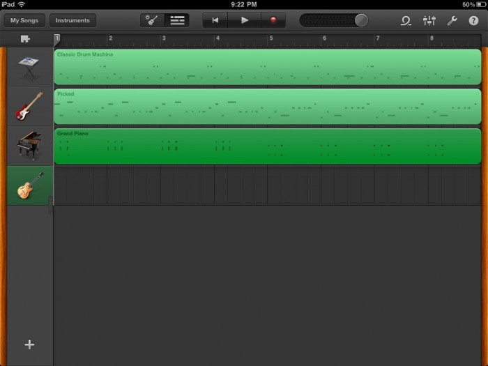 GD Quickie Review: GarageBand for iPad