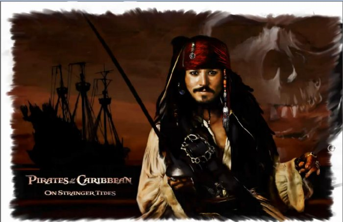 Speed Painting Jack Sparrow