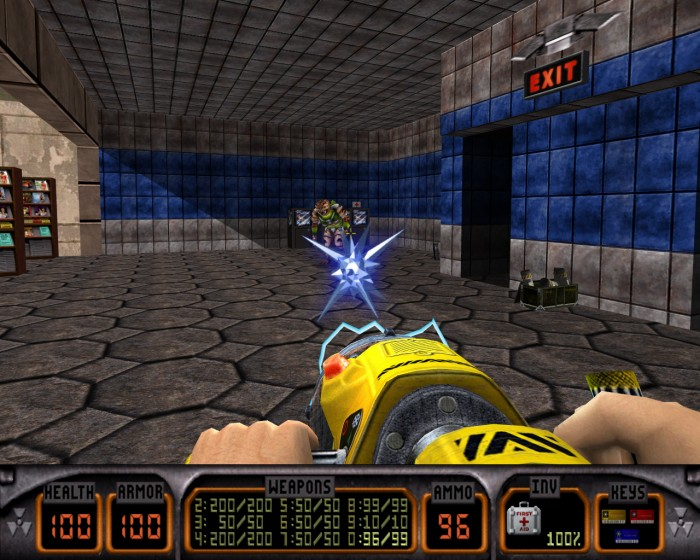 Gear Games Retrospective: Duke Nukem 3D (1996, FPS)  Gear Games Retrospective: Duke Nukem 3D (1996, FPS)  Gear Games Retrospective: Duke Nukem 3D (1996, FPS)  Gear Games Retrospective: Duke Nukem 3D (1996, FPS)