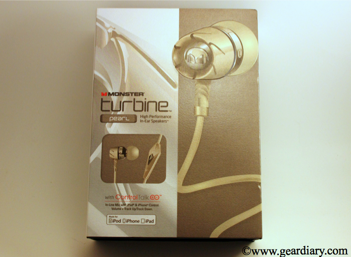 Review: Monster Turbine Pearl High Performance In-Ear Speakers  Review: Monster Turbine Pearl High Performance In-Ear Speakers