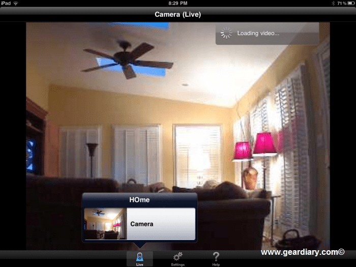 GearDiary \ Logitech Alert Review - Makes Your iPad a Home Security Solution