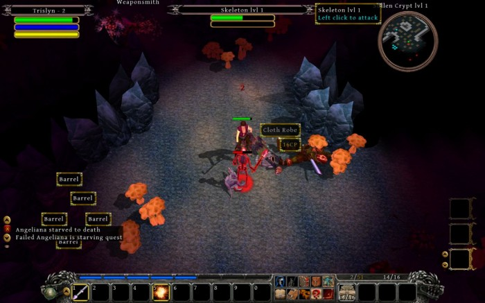 Mac/PC Game Review: Din's Curse: Demon War  (PC/Mac RPG, 2011)