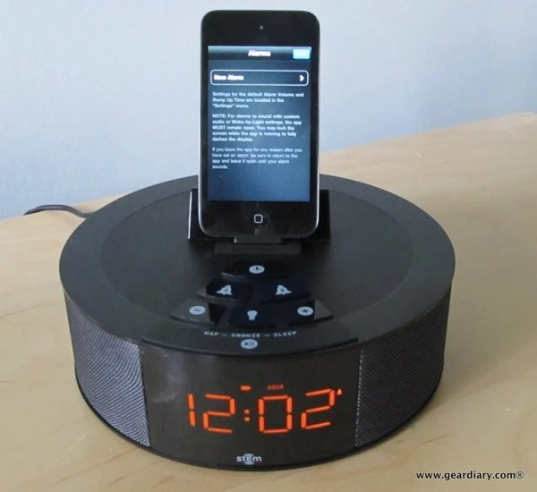 Review: Stem TimeCommand Clock-Dock