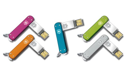 Victorinox Swiss Army Releases Innovative Luxury USB Line