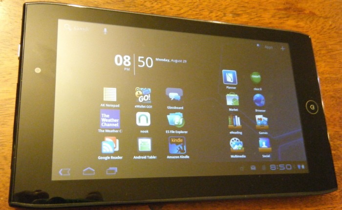"""Review: Acer Iconia Tab A100 7"""" with Android Honeycomb - Everything Right & Wrong with Android Tablets"""