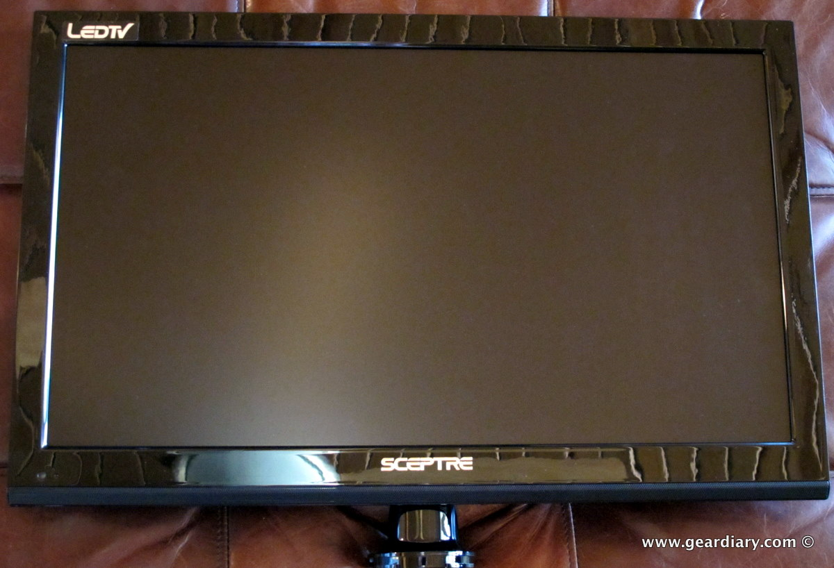 The Sceptre 24 Quot E246bd Fhd Led Hdtv Monitor With Dvd
