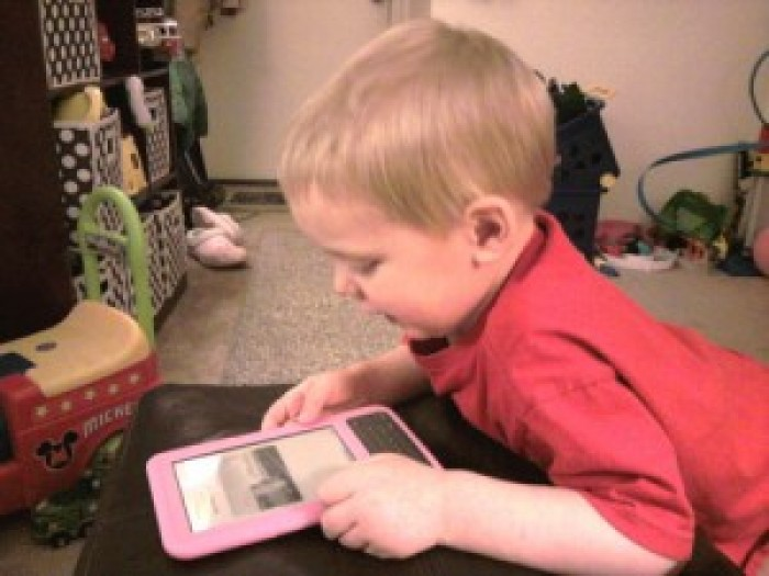 Kids and eBook Readers: Perfect Together?