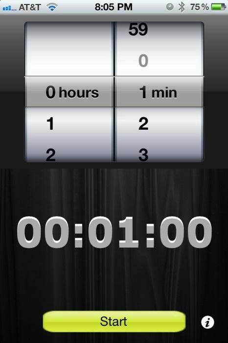Music Sleep Timer for iPhone/Touch  Music Sleep Timer for iPhone/Touch