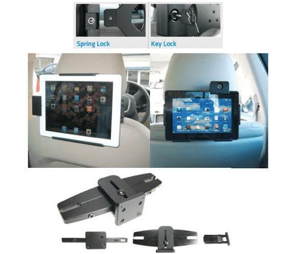 Using a Tablet as In-Car Entertainment? Make Sure It Is Crash Tested with ProClip USA