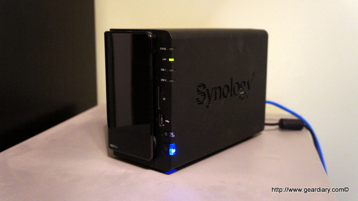 The Synology DS211+ Review: A Pint Sized 2-Bay NAS with some Really Big Features