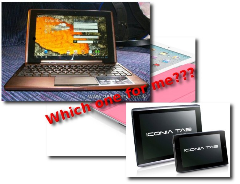Ultra Portable Tablets iPad ASUS Android