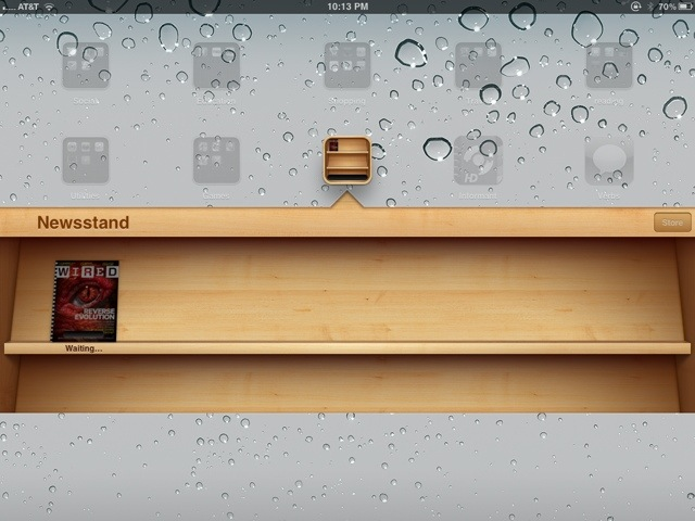 After Months of iOS 5.0 Beta, Newsstand Finally Works