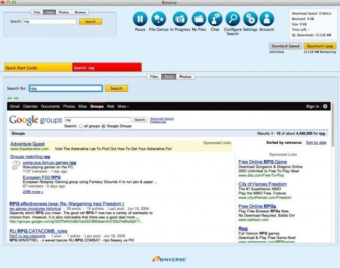 Binverse USENET Account Review