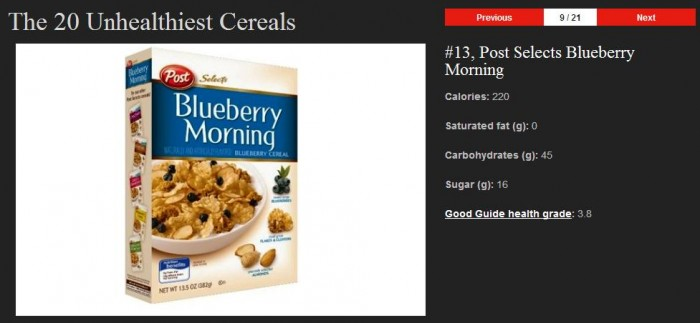 What's for Breakfast? Hopefully NOT One of These 20 Unhealthy Cereals!