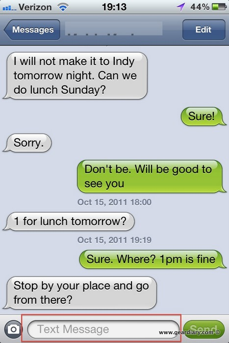 iOS 5 Tip: Am I Sending an iMessage or SMS (Text) Message?
